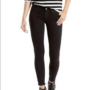 Levi's 711 Black Skinny Jean size 31